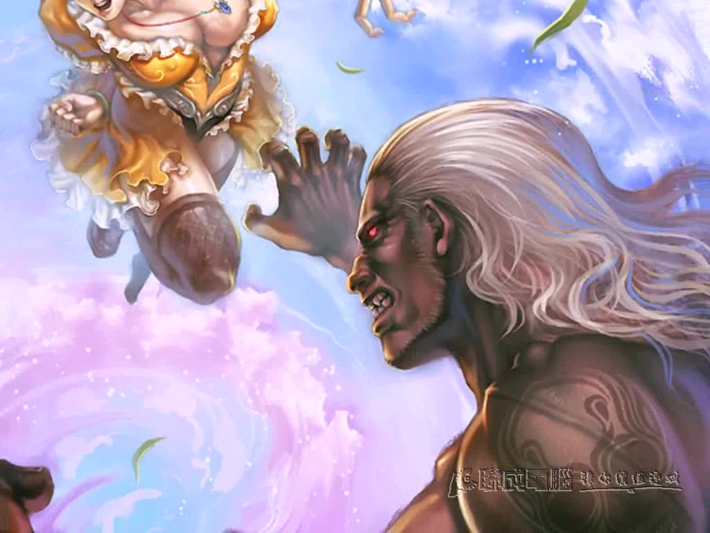 游戏美术设计师利用painter绘制游戏封面设计概念分享 1 2