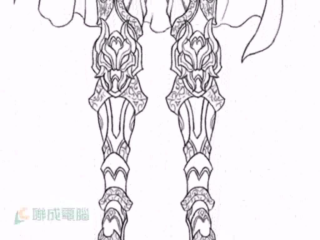 游戏美术设计师利用painter在男生服装设计上的应用